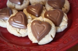 Treats for Troops… Valentine's Edition Peanut Butter Blossoms