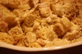 RECIPE:  Chicken Cordon Bleu Pasta Bake
